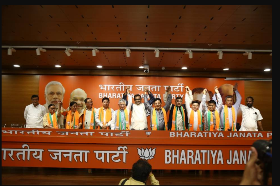 10 out of 13 MLAs in Sikkim joins BJP | The Woke Journal